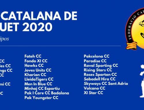 Catalunya Cricket League 2020 starting on